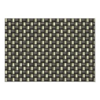 Carbon Fiber Textured Card