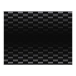 Carbon Fiber Textured Flyer