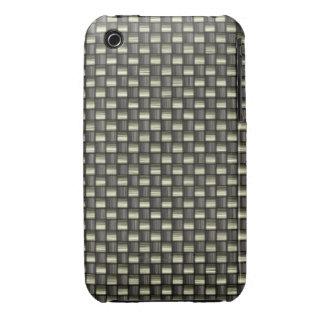 Carbon Fiber Textured iPhone 3 Case