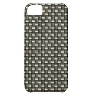 Carbon Fiber Textured iPhone 5C Cover