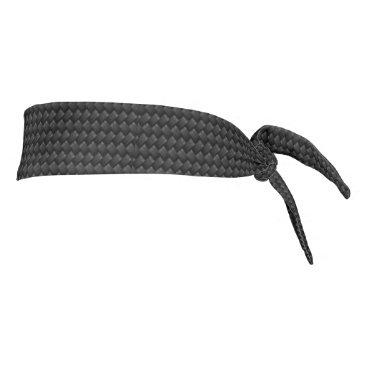 USA Themed Carbon fiber tie headband
