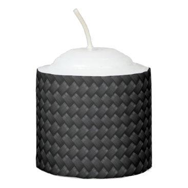 USA Themed Carbon fiber votive candle