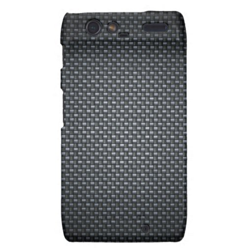 Carbon Fibre Look Droid RAZR Cases
