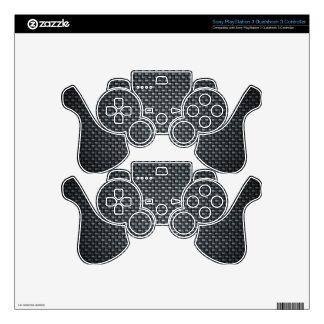 Carbon Fibre Look PS3 Controller Decal