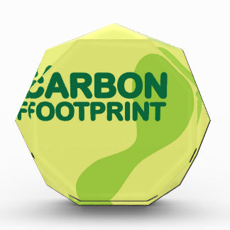Carbon Footprint Acrylic Award