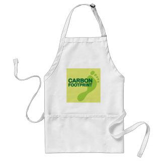 Carbon Footprint Adult Apron