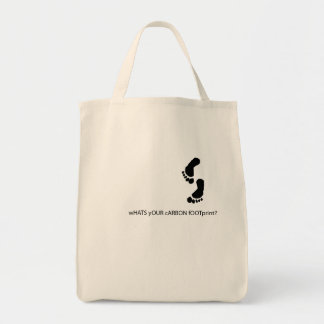 carbon footprint back.ai tote bag
