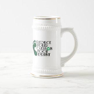 Carbon Footprint Beer Stein