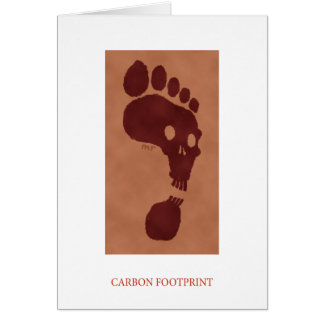 Carbon Footprint Card