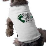 Carbon Footprint Doggie T-shirt