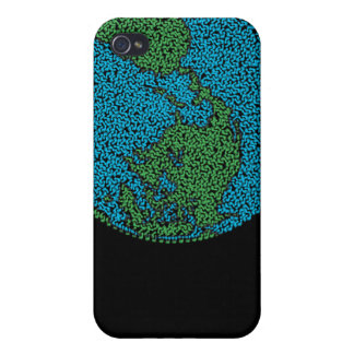 Carbon Footprint Earth iPhone 4/4S Cover