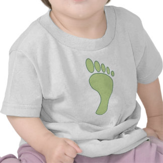Carbon FootPrint Green T Shirts