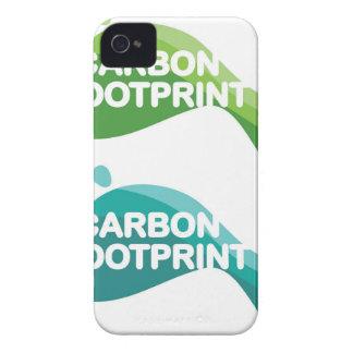 Carbon Footprint iPhone 4 Case-Mate Case