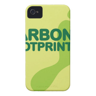 Carbon Footprint iPhone 4 Cover