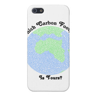 Carbon Footprint iPhone 5 Covers