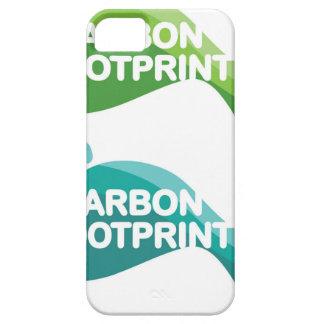 Carbon Footprint iPhone SE/5/5s Case