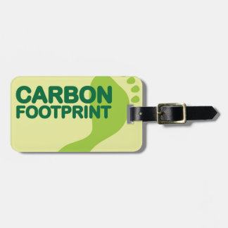 Carbon Footprint Luggage Tag