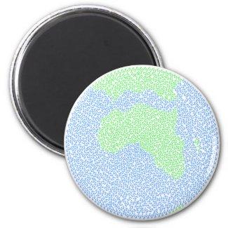 Carbon footprint magnet