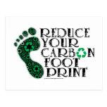 Carbon Footprint Postcard