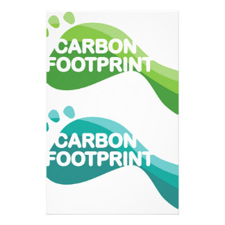 Carbon Footprint Stationery