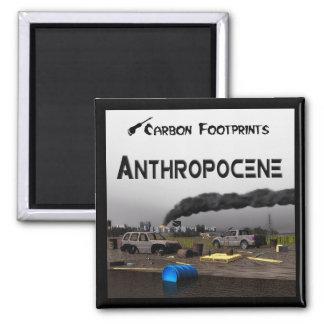 Carbon Footprints - Anthropocene Magnet