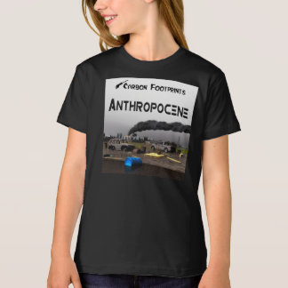 Carbon Footprints - Anthropocene T-Shirt