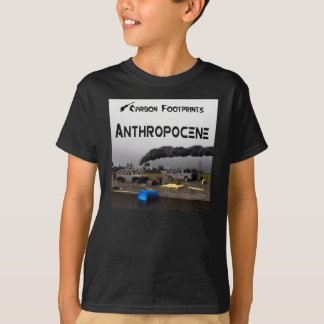 Carbon Footprints - Anthropocene T-Shirt