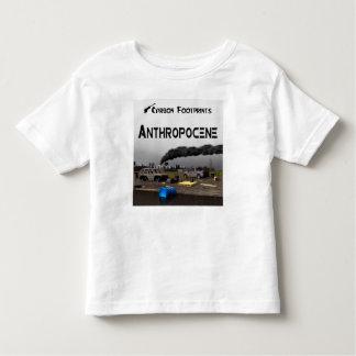 Carbon Footprints - Anthropocene Toddler T-shirt