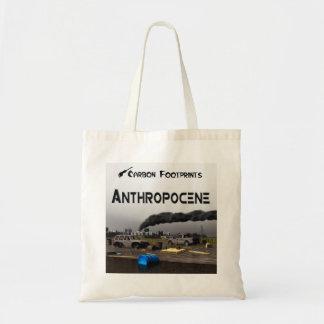 Carbon Footprints - Anthropocene Tote Bag