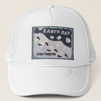Carbon Footprints Trucker Hat