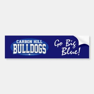 Carbon Hill High School; Bulldogs Car Bumper Sticker
