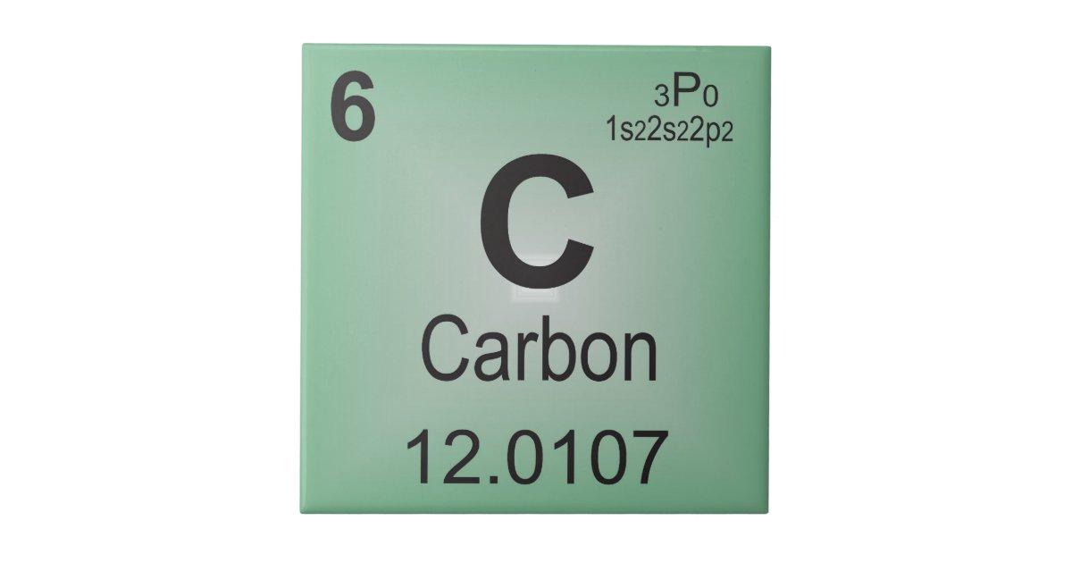 Carbon Periodic Table Symbol Vinyl Decal Sticker Ebay Periodic Table