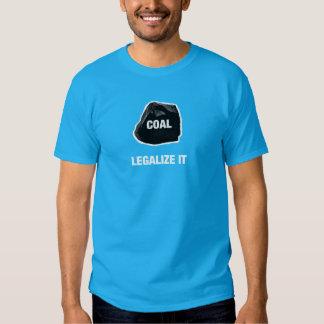Carbón - legalícelo camisa