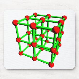 Carbon Molecule Mousepad