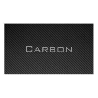 Carbon negocio Card Plantilla De Tarjeta De Negocio