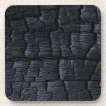 Carbón negro posavasos