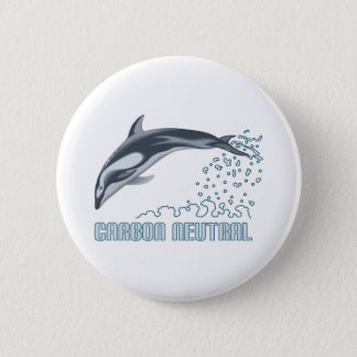 Carbon neutral conservation / dolphin jumping button