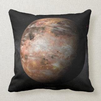 Carbon Planet Throw Pillow