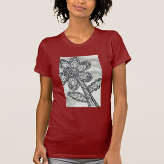 Carbon Space Daisy T-shirt