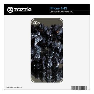 Carbonados black diamonds decal for iPhone 4