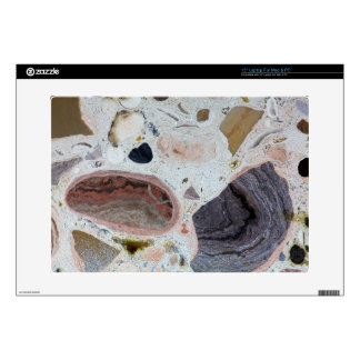 """Carbonate rock decal for 15"""" laptop"""