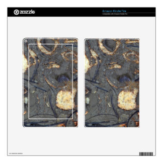 Carbonate rock with fossils kindle fire skins