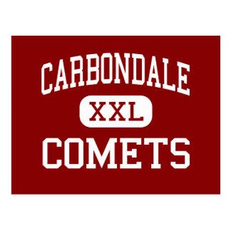 Carbondale - Comets - Middle - Carbondale Colorado Postcard