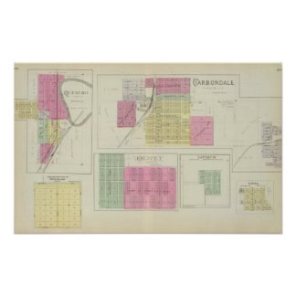 Carbondale, Quenemo, Kansas Print