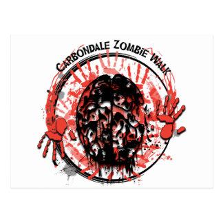 Carbondale Zombie Walk postcard