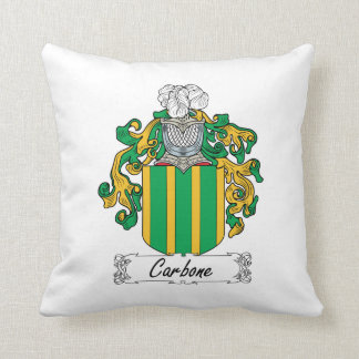 Carbone Family Crest Pillows