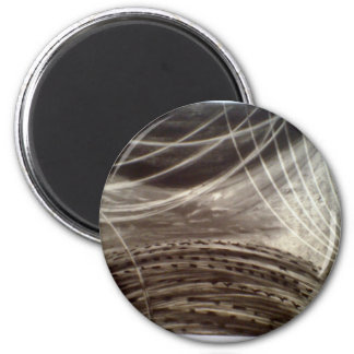 Carbones de leña imán redondo 5 cm