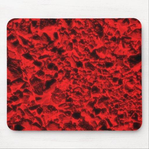 Carbones rojos mousepad
