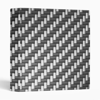 Carbonfiber Carbon Fiber (faux) 3 Ring Binder