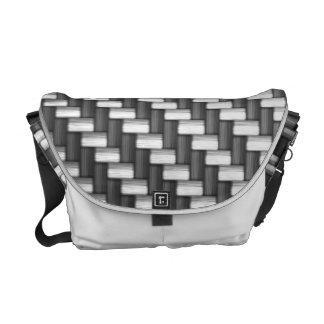Carbonfiber Carbon Fiber (faux) Messenger Bag